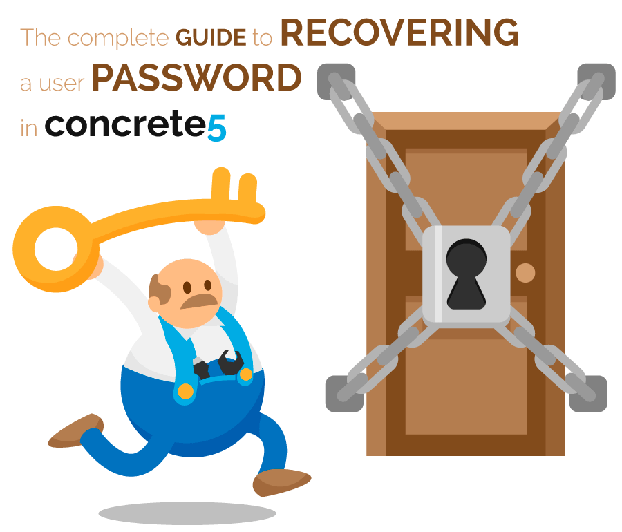 The complete guide to recovering a user password in concrete5