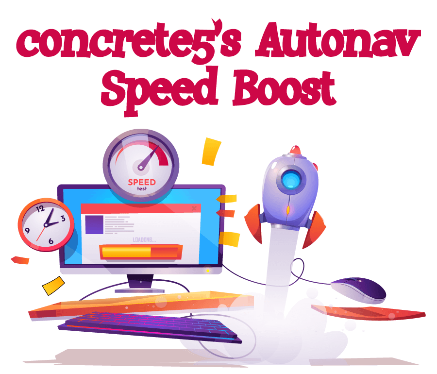 Concrete5 speed boost - streamline your Autonav block