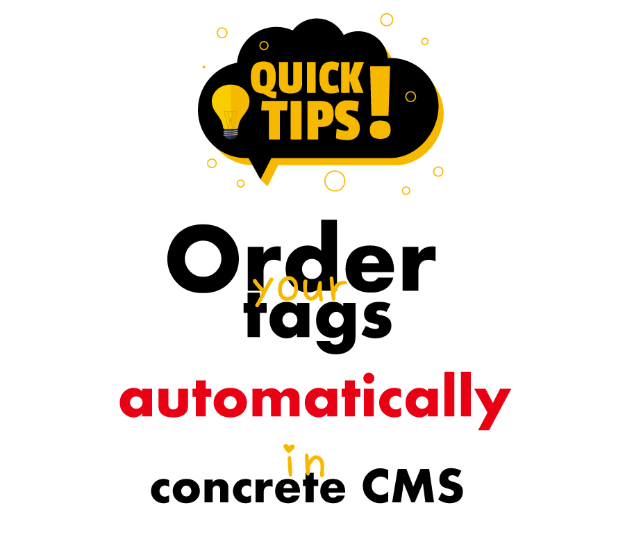 Re-order your blog tags automatically in concrete CMS